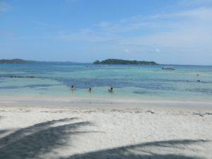 La mia spiaggia preferita di Isla Carenero