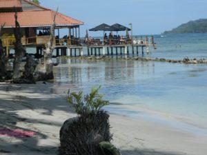 Bar su Palafitta a Isla Carenero