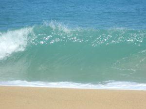 Onda tipica di Playa Bluff