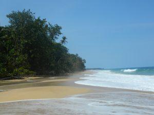 Panoramica di Playa Bluff