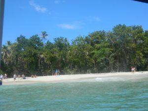 Cayo Zapatillo visto dalla barca