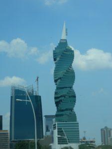 Il grattacielo più particolare di Panamà City