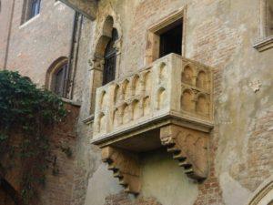 Dettaglio del Balcone di Giulietta