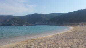 Veduta della Spiaggia Kalamitsi