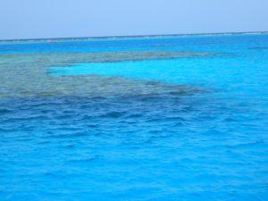 Colore del mare alla Baia dei Delfini