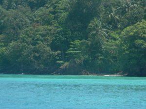 Mare a Ko Chuek prima dello snorkeling