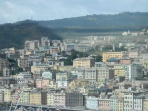 Scorcio di Genova dall'Ascensore Bigo