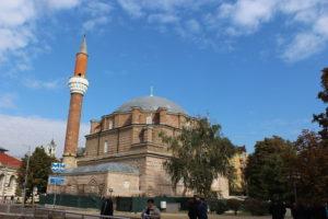 Moschea Banya Bashi in ristrutturazione