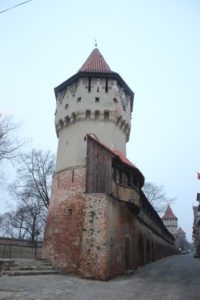 Prima Torre con inizio delle mura