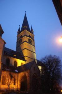 Sibiu in notturna - 1