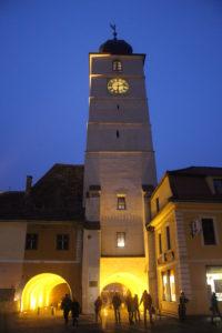 Sibiu in notturna - 2