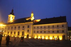 Sibiu in notturna - 3