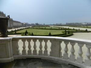 Reggia di Venaria - Scorcio sui giardini