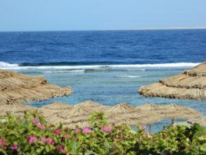 Il Mar Rosso visto dal resort