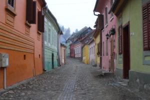 Casette Colorate a Sighisoara