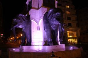 Fontana degli Elefanti - dettaglio