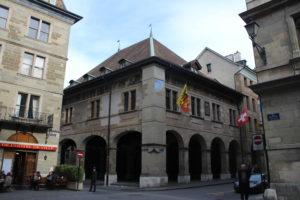 Una parte dell'Hotel de Ville (Municipio)