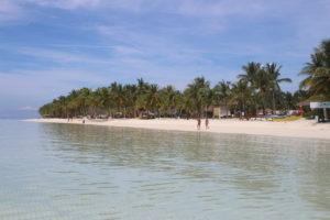 Dumaluan Beach vista dal mare - 1
