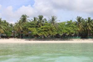 Dumaluan Beach vista dal mare - 2