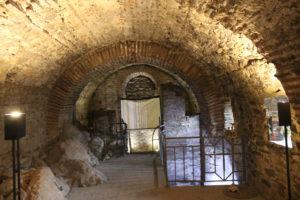 Interno del piano terra della Fortezza di Asenovgrad
