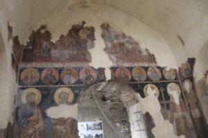 Dipinti sulle pareti della Fortezza di Asenovgrad - 1