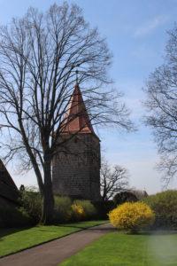 Scorcio del Burgmeistergarten