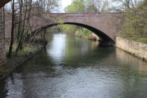 Scorcio catturato dal ponte sospeso