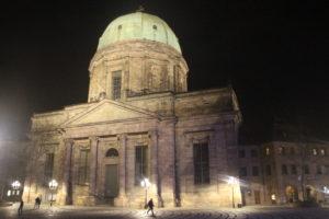 Chiesa di Santa Elisabetta in notturna