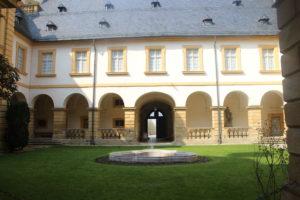 Cortile interno del Castello di Seehof