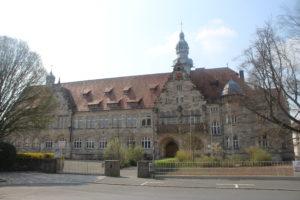 Herder Gymnasium. Sembra una scuola italiana...forse