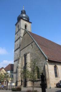 Chiesa di San Martino. Solo da qui si riesce a riprendere completamente