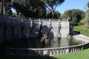 Fontana di Pegaso - Panoramica