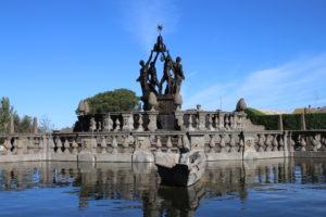 Fontana dei Mori - Dettaglio