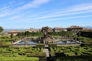 Giardini all'italiana - Panoramica dall'alto