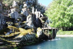 Fontana dei Giganti - Dettaglio lato sinistro