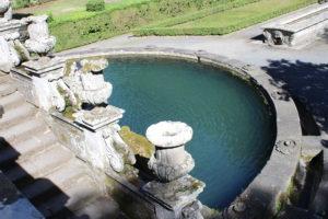 Fontana dei Giganti dall'alto
