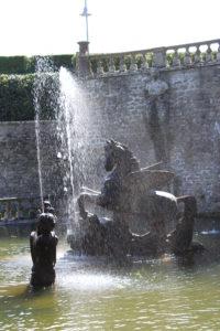 Fontana di Pegaso - Dettaglio