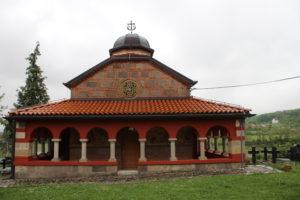 Chiesa del piccolo cimitero