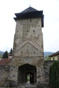 Monastero di Studenica - Torre di ingresso