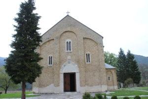 """""""Fronte"""" della Chiesa principale"""