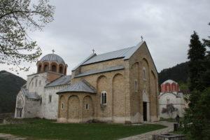 Panoramica del complesso monastico di Studenica