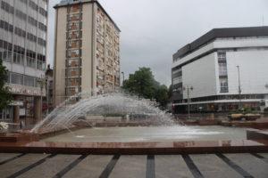 Altra fontana in Piazza Re Milan