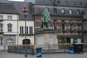 Statua di Jan Wellem nella Marktplazt
