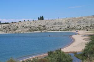 Lago Yssyk-Kul a Tamga - 1