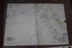 Mappa per il cimitero di Tamga