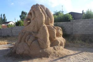 Esempio di statua di sabbia - 3