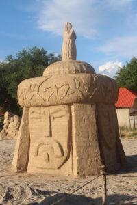 Esempio di stuatua di sabbia - 1