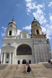 Ecco il mio ricordo della Cattedrale Metropolitana di Iasi, con 'sta caxxo di mutanda sulla facciata...