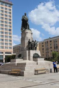 Statua di Alexandru Ioan Cuza in Piata Unirii