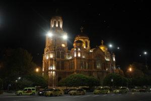 Cattedrale Ortodossa di notte